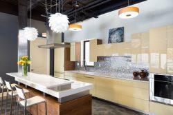 Kitchen interior design loft